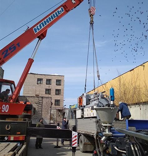 Перевозка промышленного оборудования в Краснодаре