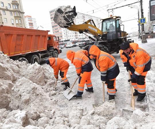 Уборка снега в Краснодаре и Краснодарском крае