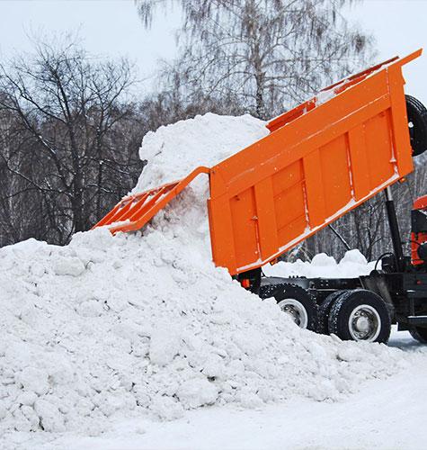 Услуга по уборке снега в Краснодаре