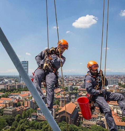 Услуги промышленного альпинизма в Краснодаре