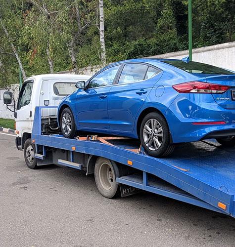 Транспортировка легковых авто в Краснодаре